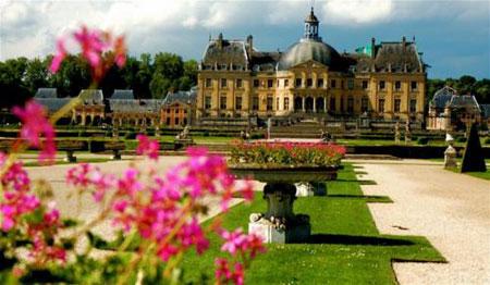 Экскурсия в замок Во-ле-Виконт.