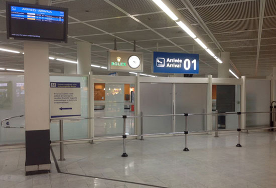 Transfer orly airport to paris meeting point 01