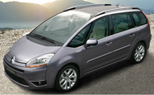 Citroen C4 Grand Picasso for Paris Airport Transfers