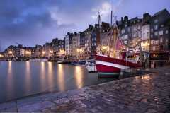 Honfleur Port In The Evening